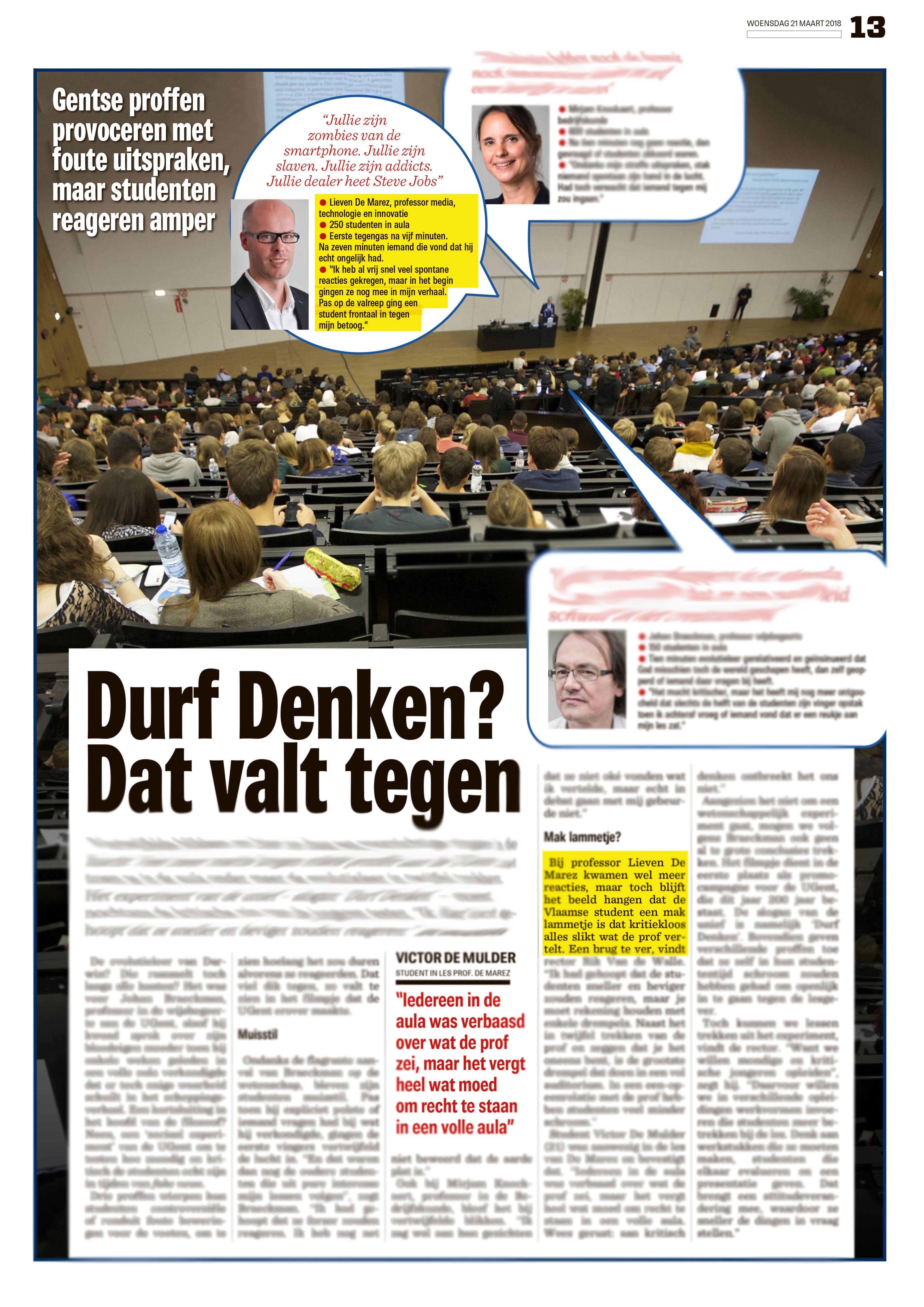 BRON: Het Nieuwsblad, 21/03/2018, p 13