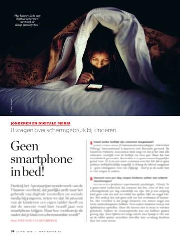 Geen smartphone in bed deel 1
