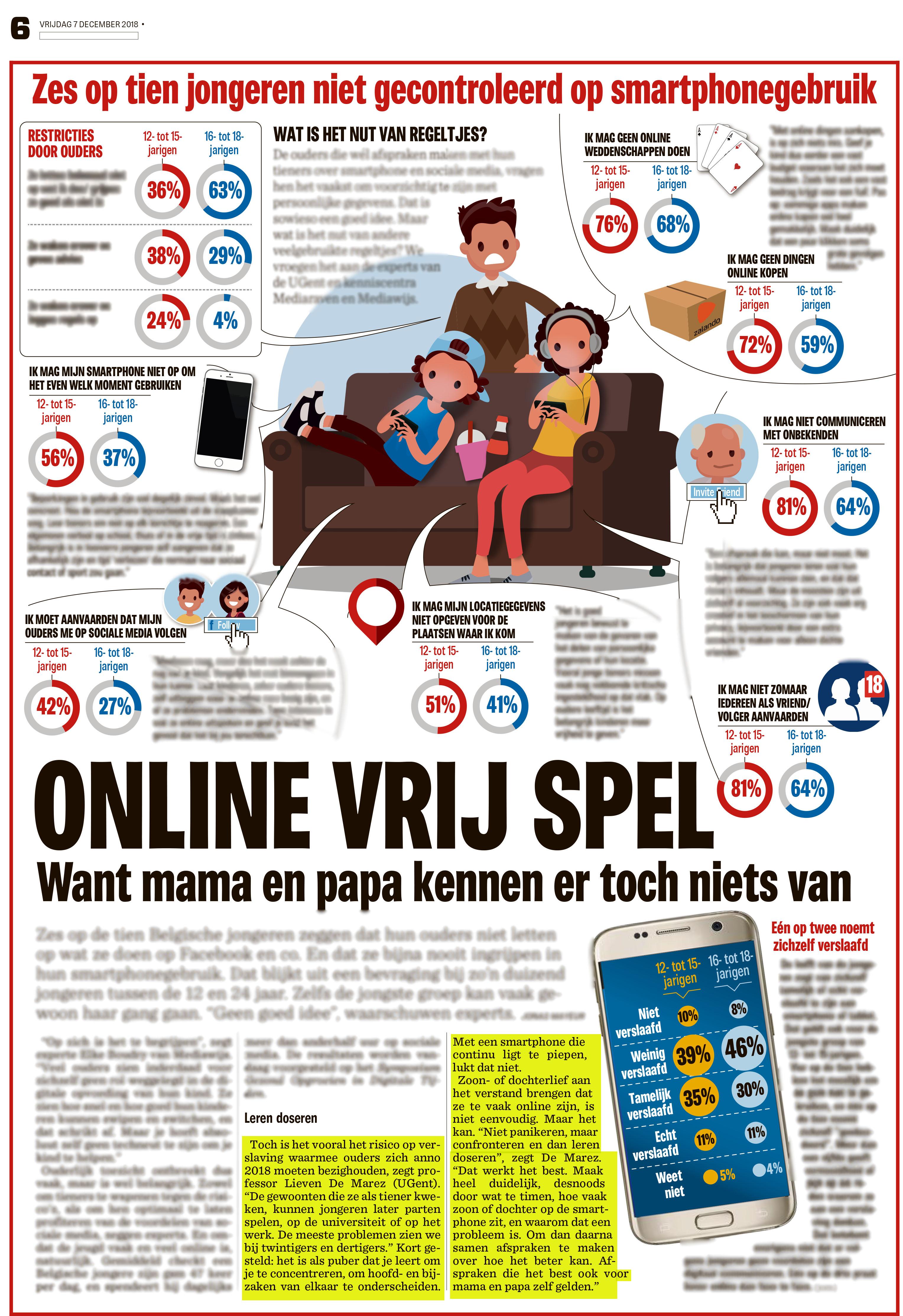 BRON: Het Nieuwsblad, 07/12/2018, p. 6
