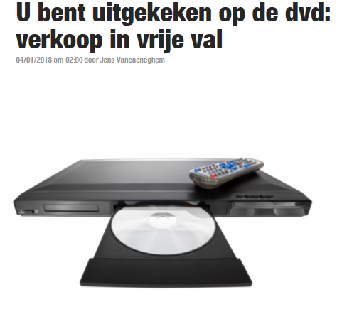 BRON: Het Nieuwsblad, 04/01/2018, online
