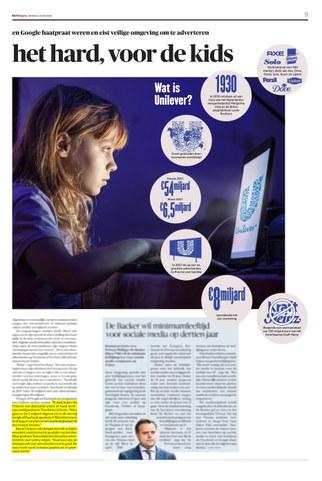 Unilever speelt het hard voor de kids_De Morgen