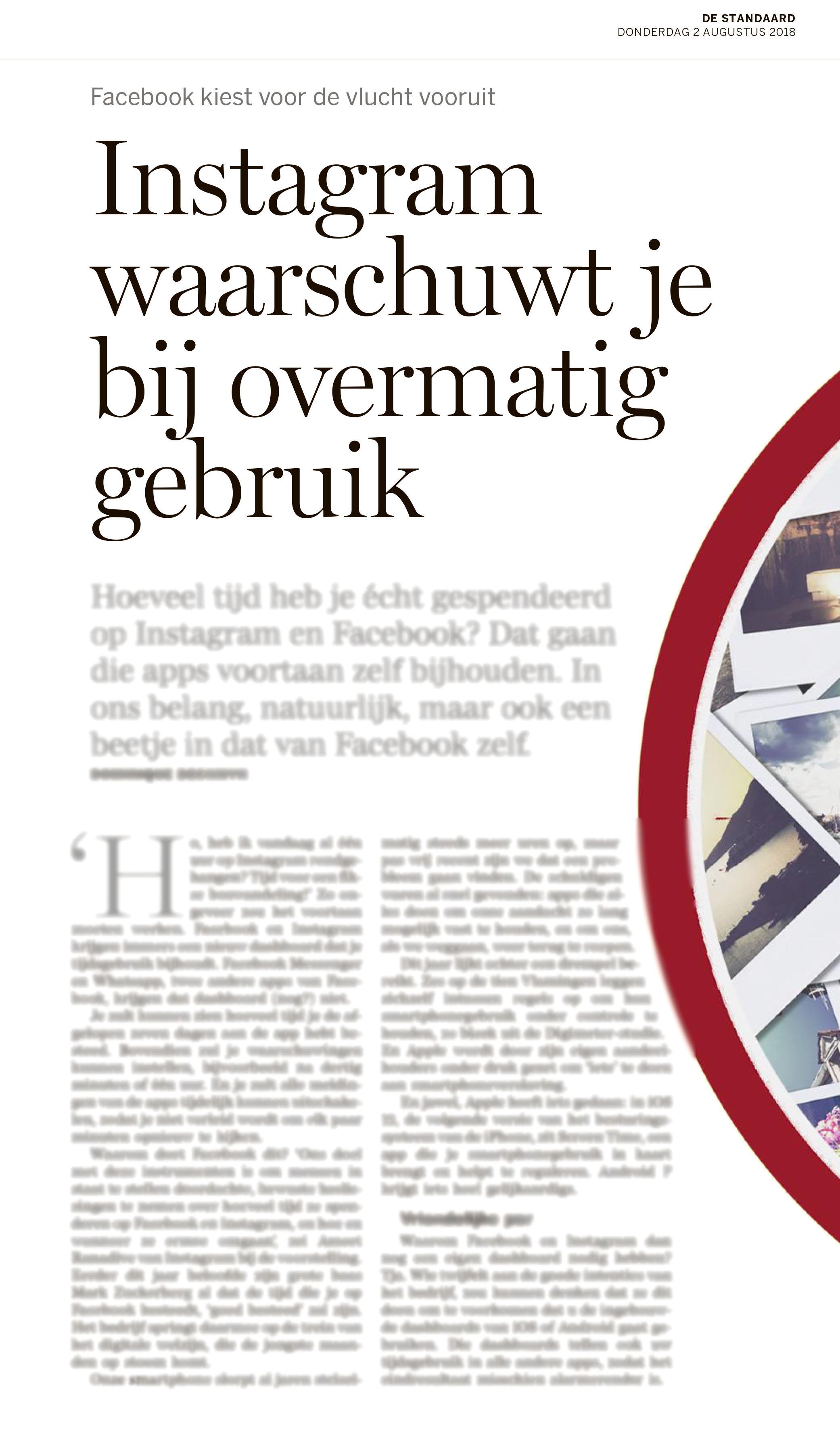 BRON: De Standaard, 02/08/2018, p 2