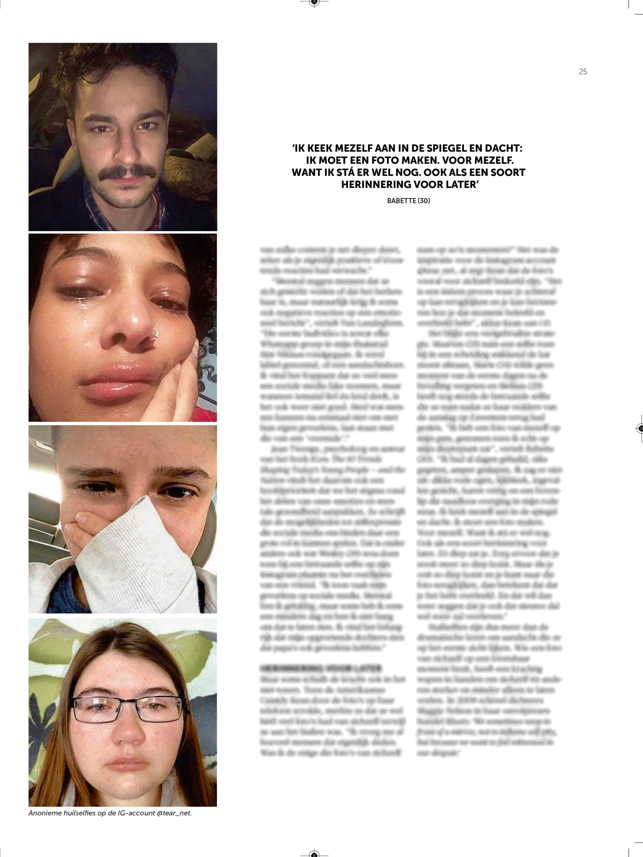 BRON: De Morgen, 14/03/2020, p 25
