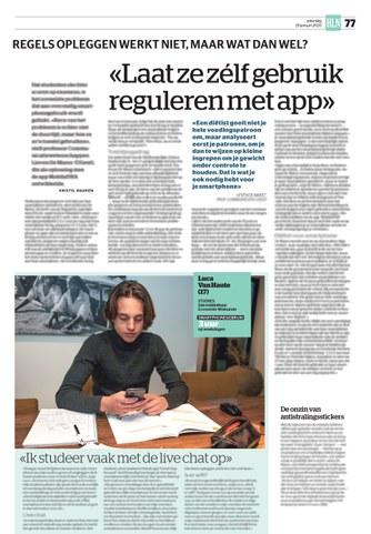 BRON: Het Laatste Nieuws, 25/01/2020, p 76