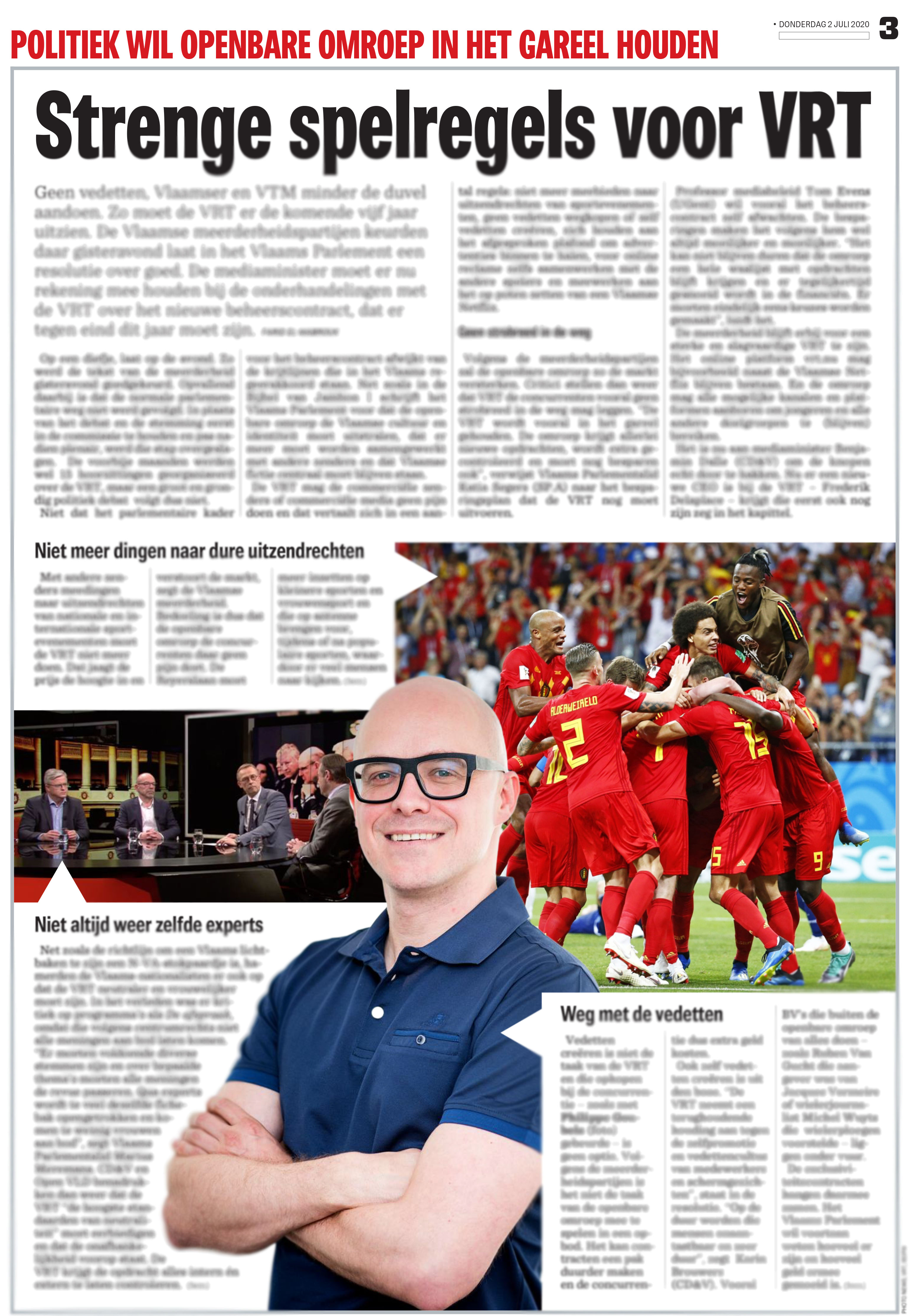 BRON: Het Nieuwsblad, 02/07/2020, p 3