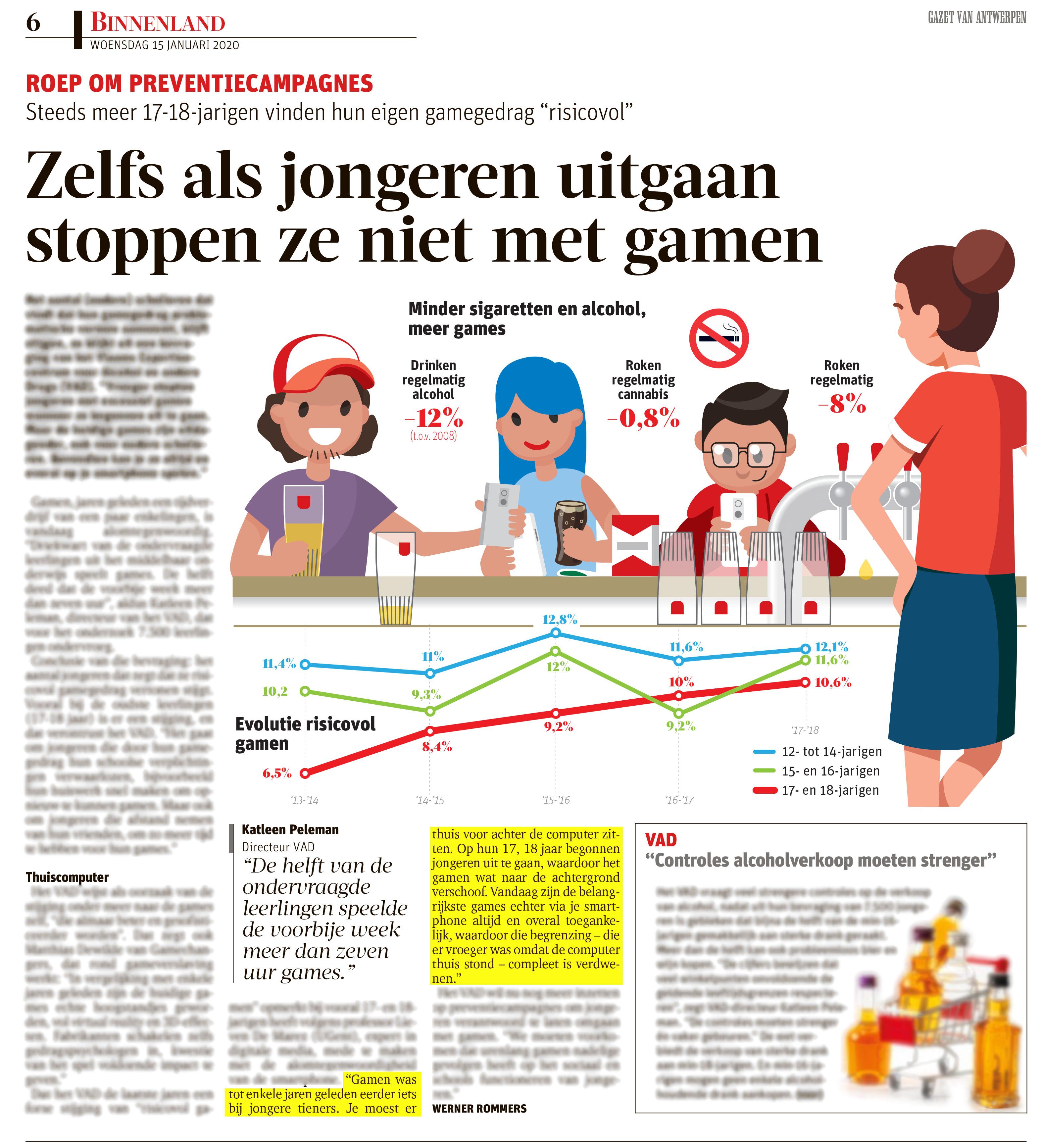 BRON: Gazet van Antwerpen, 15/01/2020, p 6