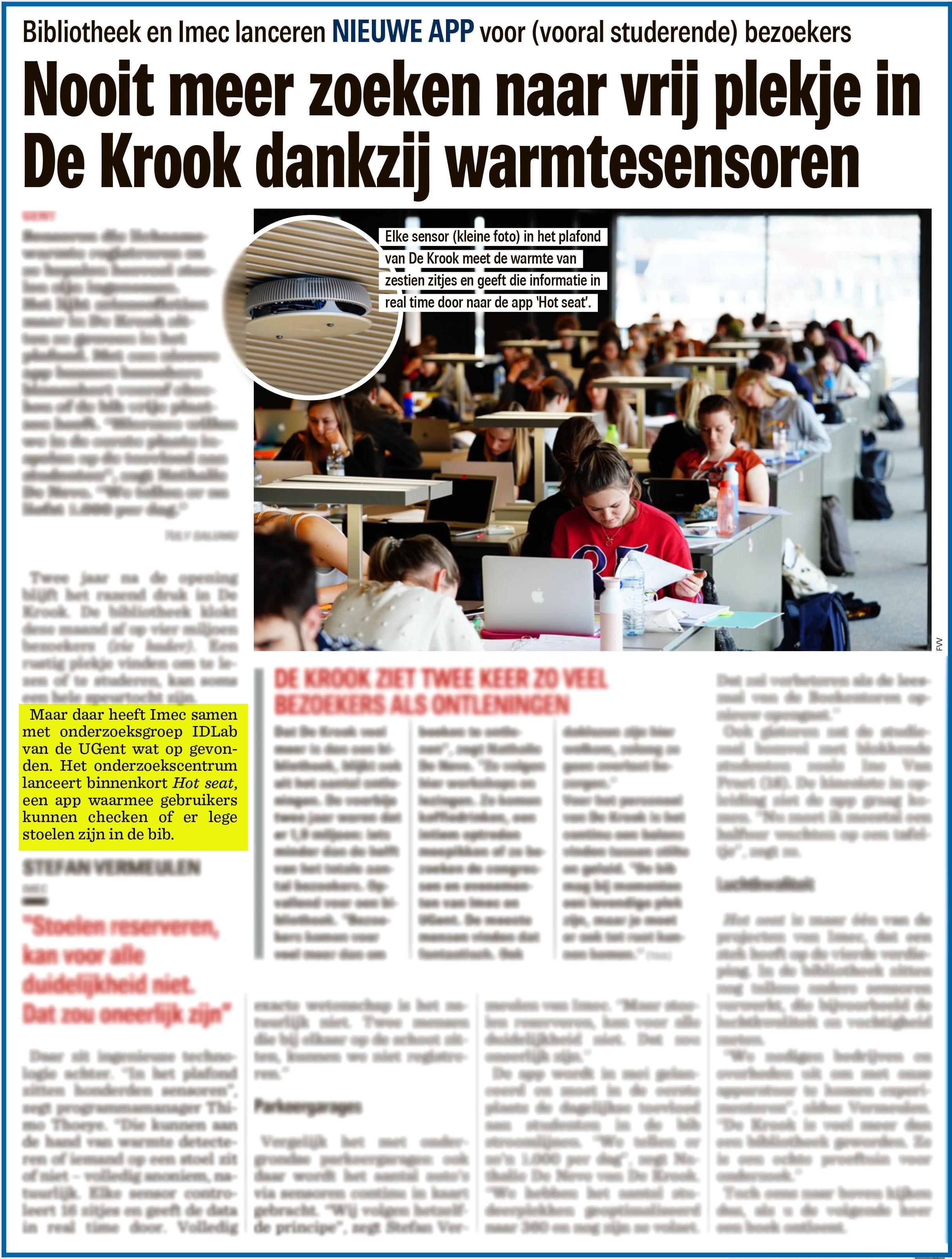BRON: Nieuwsblad, 03/04/2019, p. 5