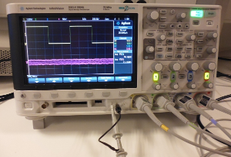 Agilent DSO-X 2004A oscilloscope