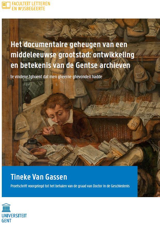 Dr Tineke Van Gassen Lw03 Passes Phd Defense On Medieval City