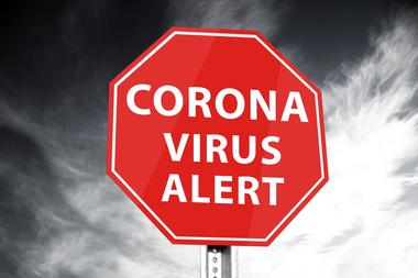 Corona alert (vergrote weergave)
