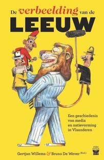 """Kleurvaste book cover """"De verbeelding van de leeuw"""""""