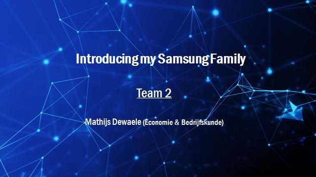 Samsung Innovation Battle - Team 2