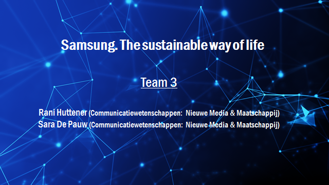 Samsung Innovation Battle - Team 3