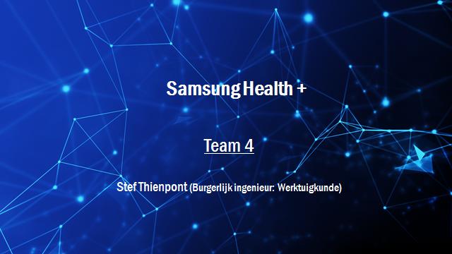 Samsung Innovation Battle - Team 4
