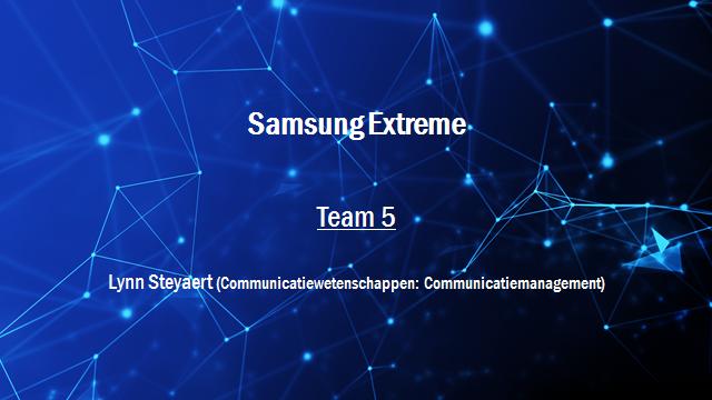 Samsung Innovation Battle - Team 5