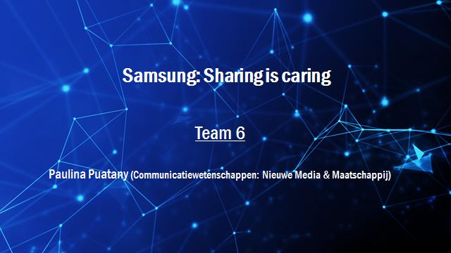 Samsung Innovation Battle - Team 6