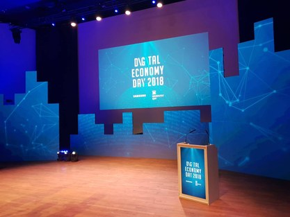 Digital Economy Day 2018 in ICC Ghent