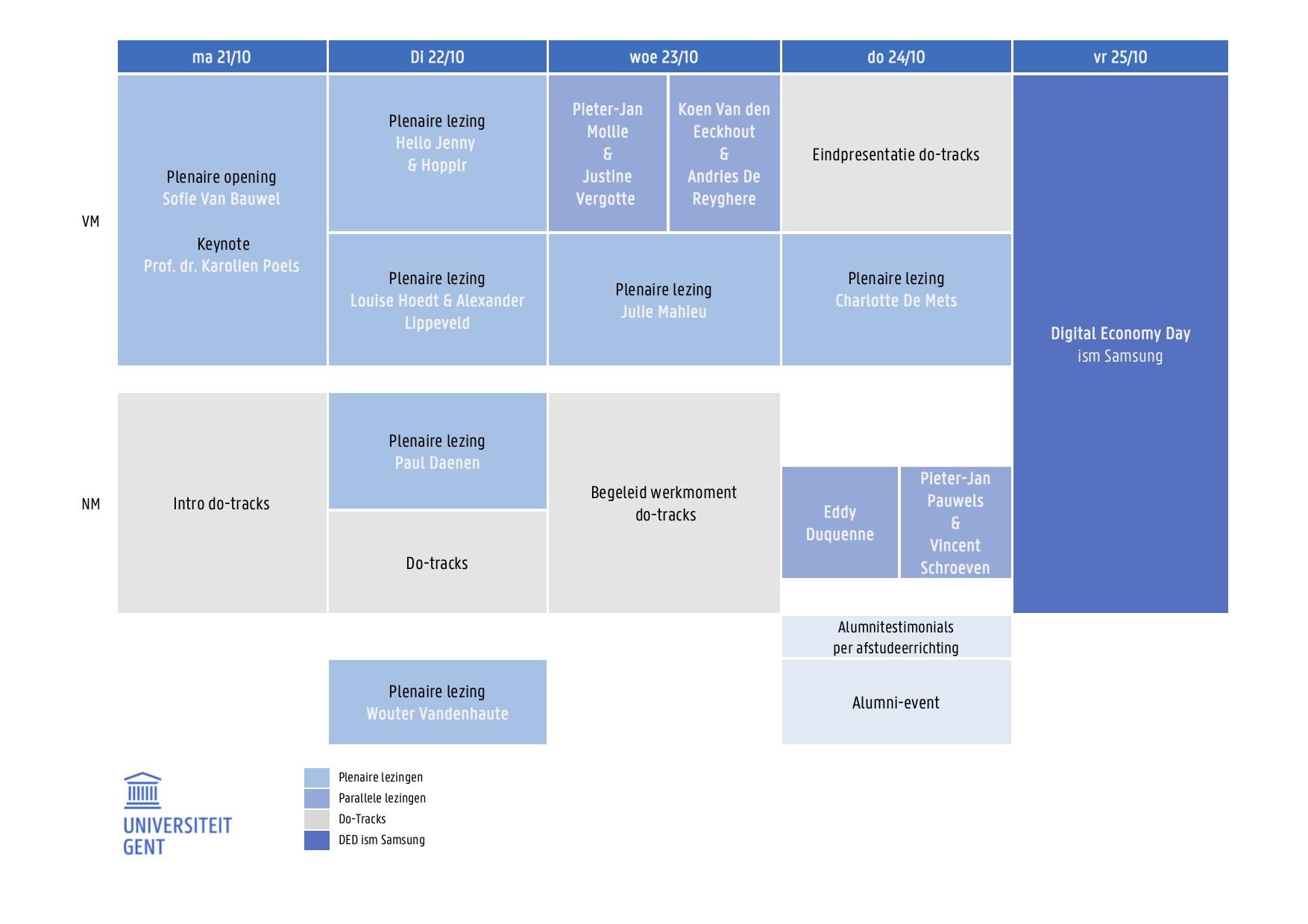 Programma van de media-innovatieweek 2019