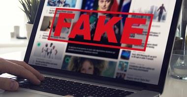 fake news (vergrote weergave)