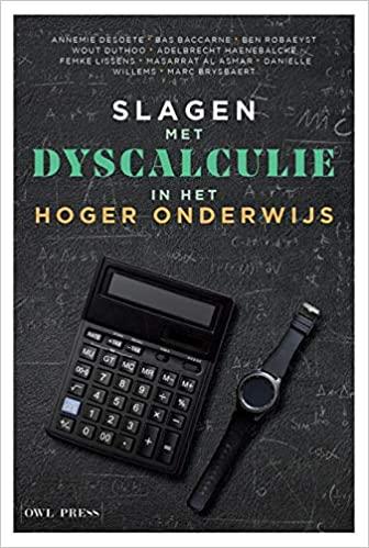 Slagen met dyscalculie in het hoger onderwijs