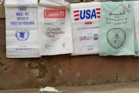 Food aid in Asmara, Eritrea ©Eric Petitalot