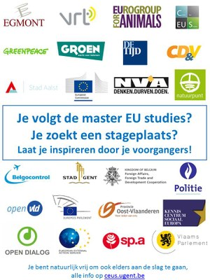 Flyer stage MSc EU Studies