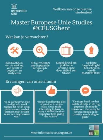Infographic Master EU Studies