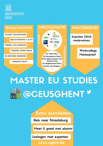 Poster Master EU Studies