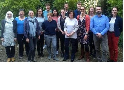 The full team of the Centre for Higher Education Governance Ghent