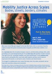 Public Lecture Mimi Sheller