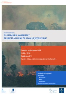 EU-Mercosur student conference poster