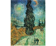 © Vincent Van Gogh – Country Road in Provence by NightMay 1890, oil on canvas, 92 x 73 cm