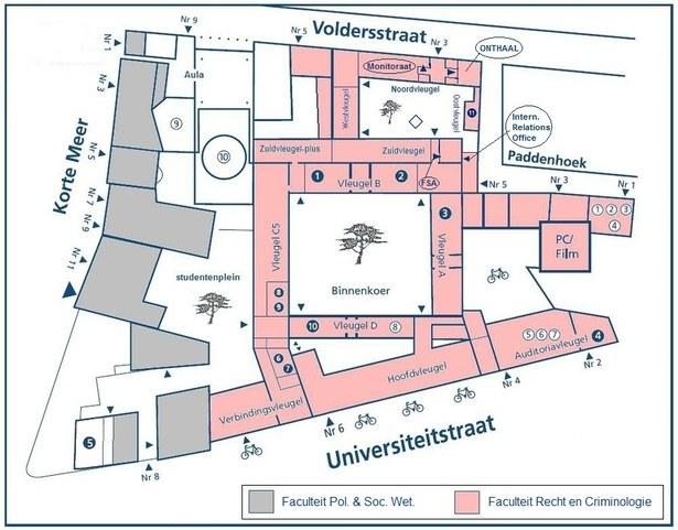 plattegrond-faculteit