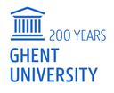 Logo 200 jaar UGent - Engels