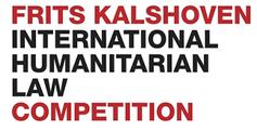 logo Frits Kalshoven International Humanitarian Law Competition