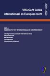 Codex Europees en internationaal recht