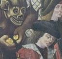 Jan van Brussel, Gerechtigheidstafereel, ca. 1499 (detail)