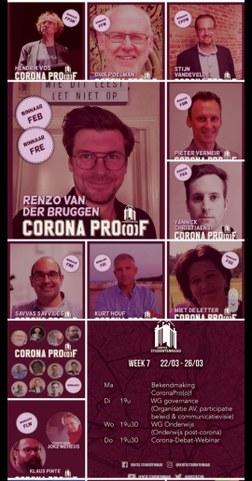winnaars verkiezing CoronaPro(o)f 2021