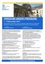 Uitnodiging Freedom Under Pressure (extern)
