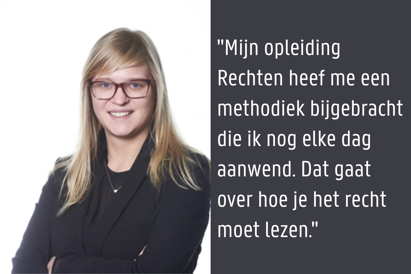 Annelies De Boever - Junior Consultant voor Global Trade Advisory bij Deloitte