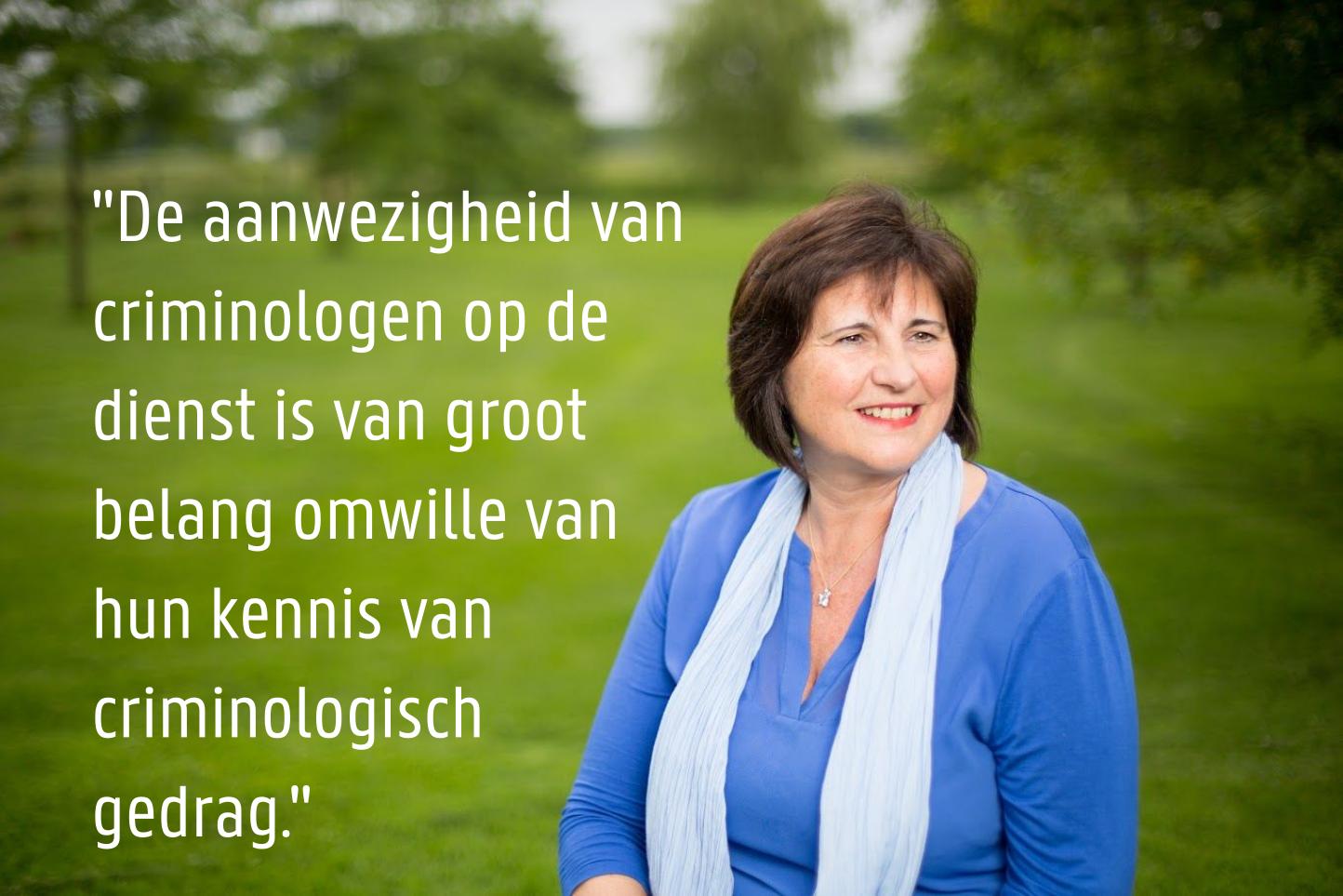 Antonia Le Roy - Directeur Vlaams Centrum Elektronisch Toezicht