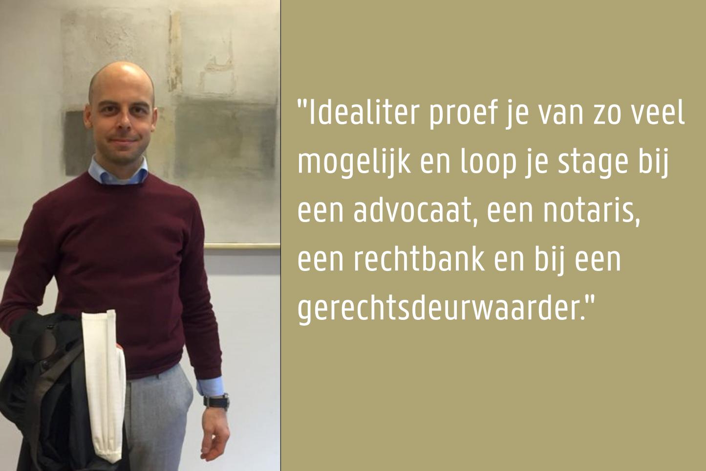Bjorn De Vriese - Hoofdgriffier Vredegerecht Gent 2