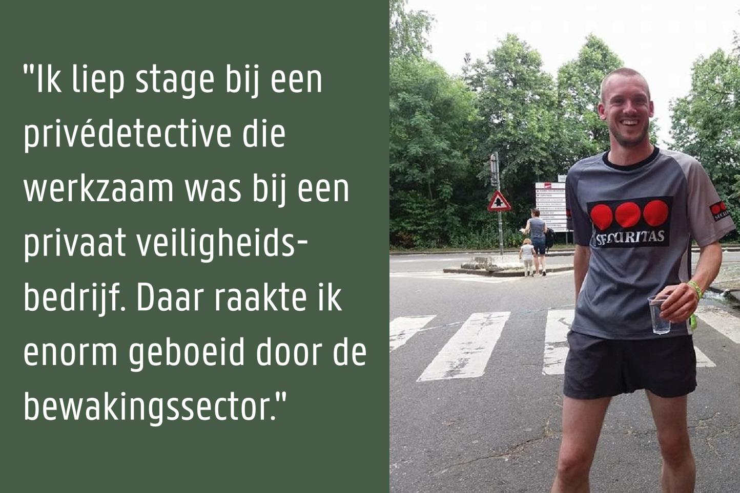 David De Bock - Hoofd bewaking bij Securitas voor de Forensische Psychiatrische Centra Gent en Antwerpen