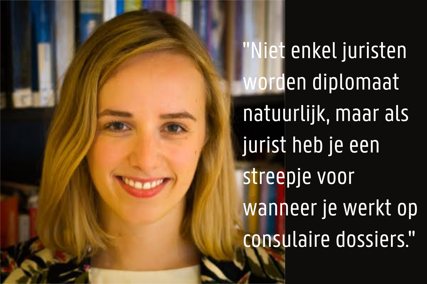 Elisa De Raes - Diplomaat