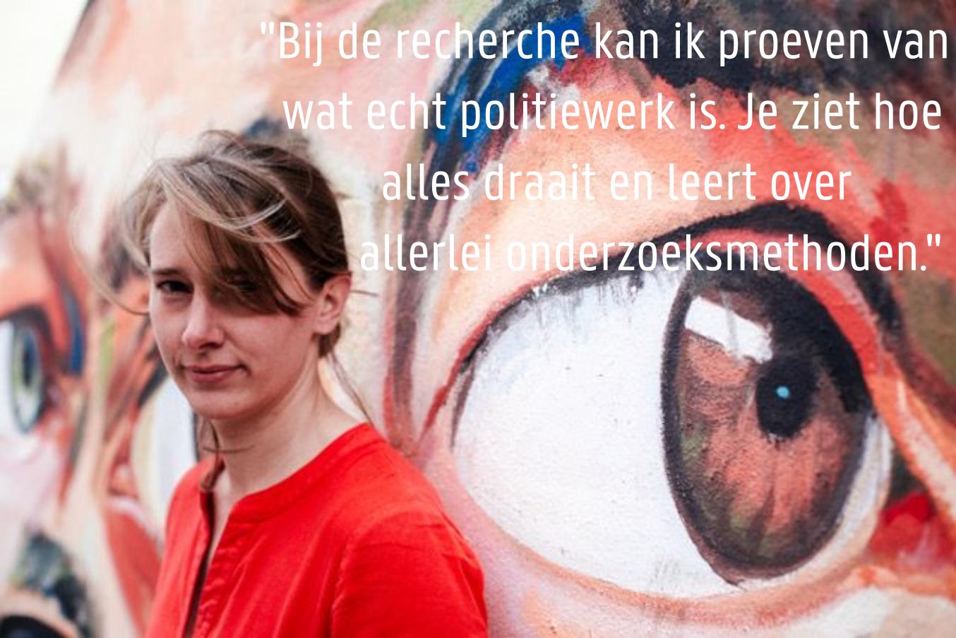 Karen Van den Bossche - Inspecteur Lokale Recherchedienst Gent, Team Zeden