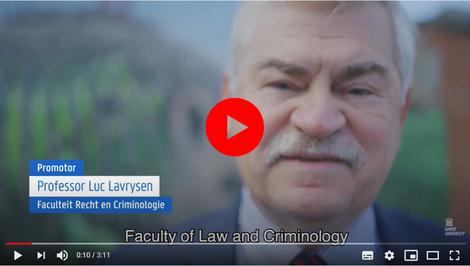 Laudatio Luc Lavrysen bij ere-doctoraat John Knox