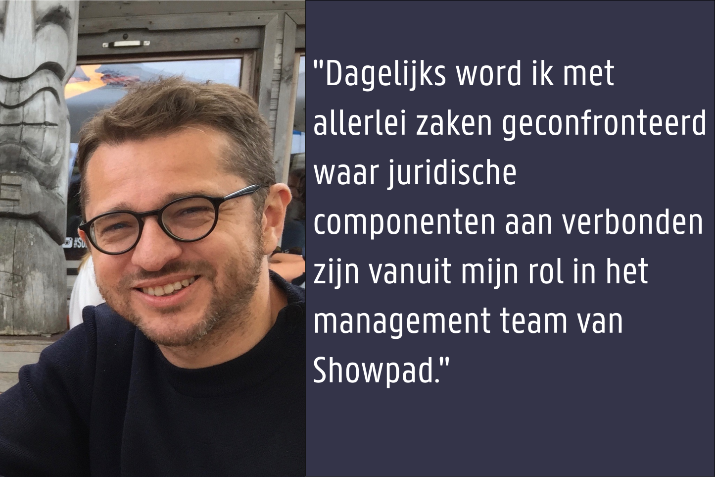 Peter Geiregat - Vice President People bij Showpad