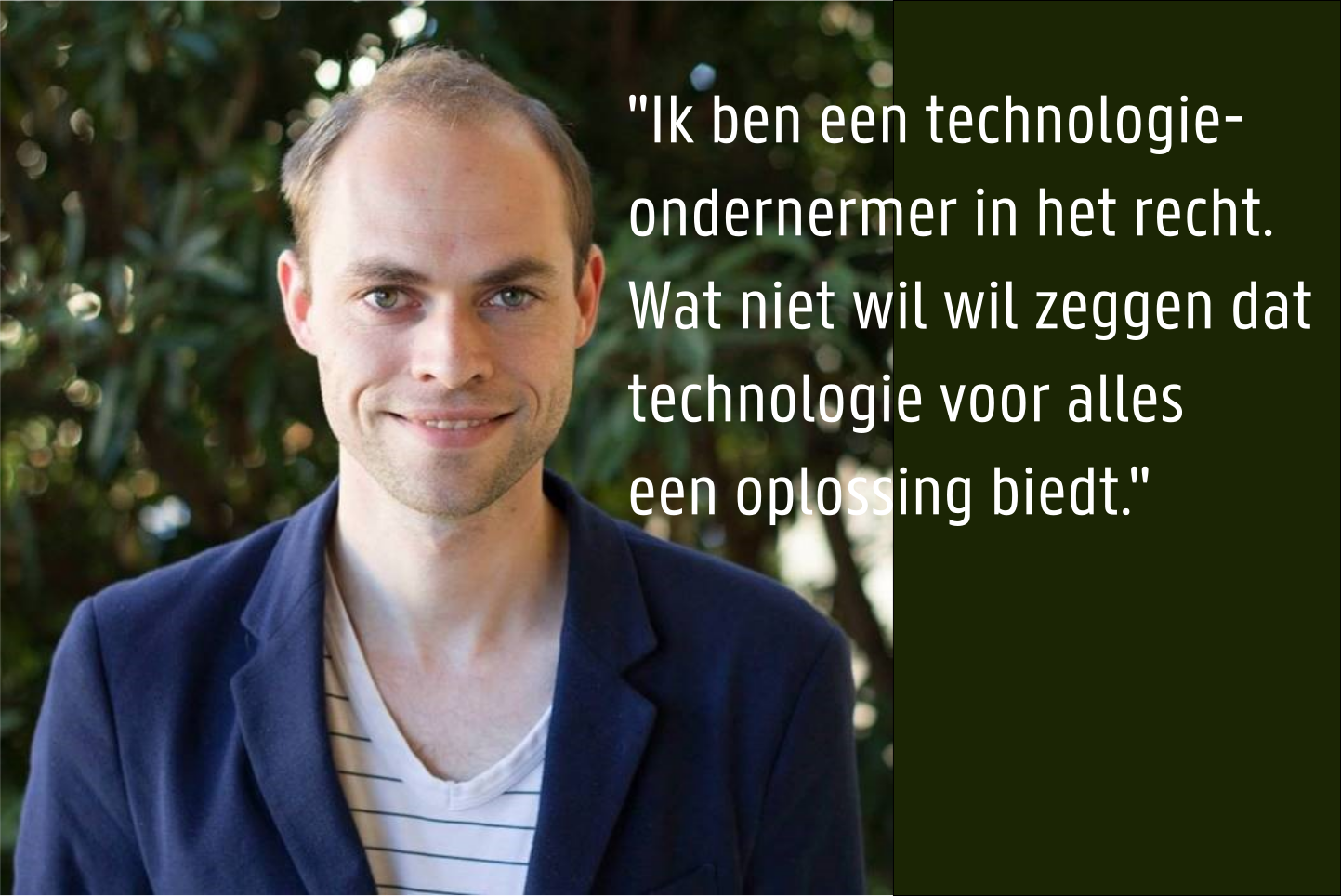 Pieter Gunst - Mede-oprichter van LawGives en later Legal.io