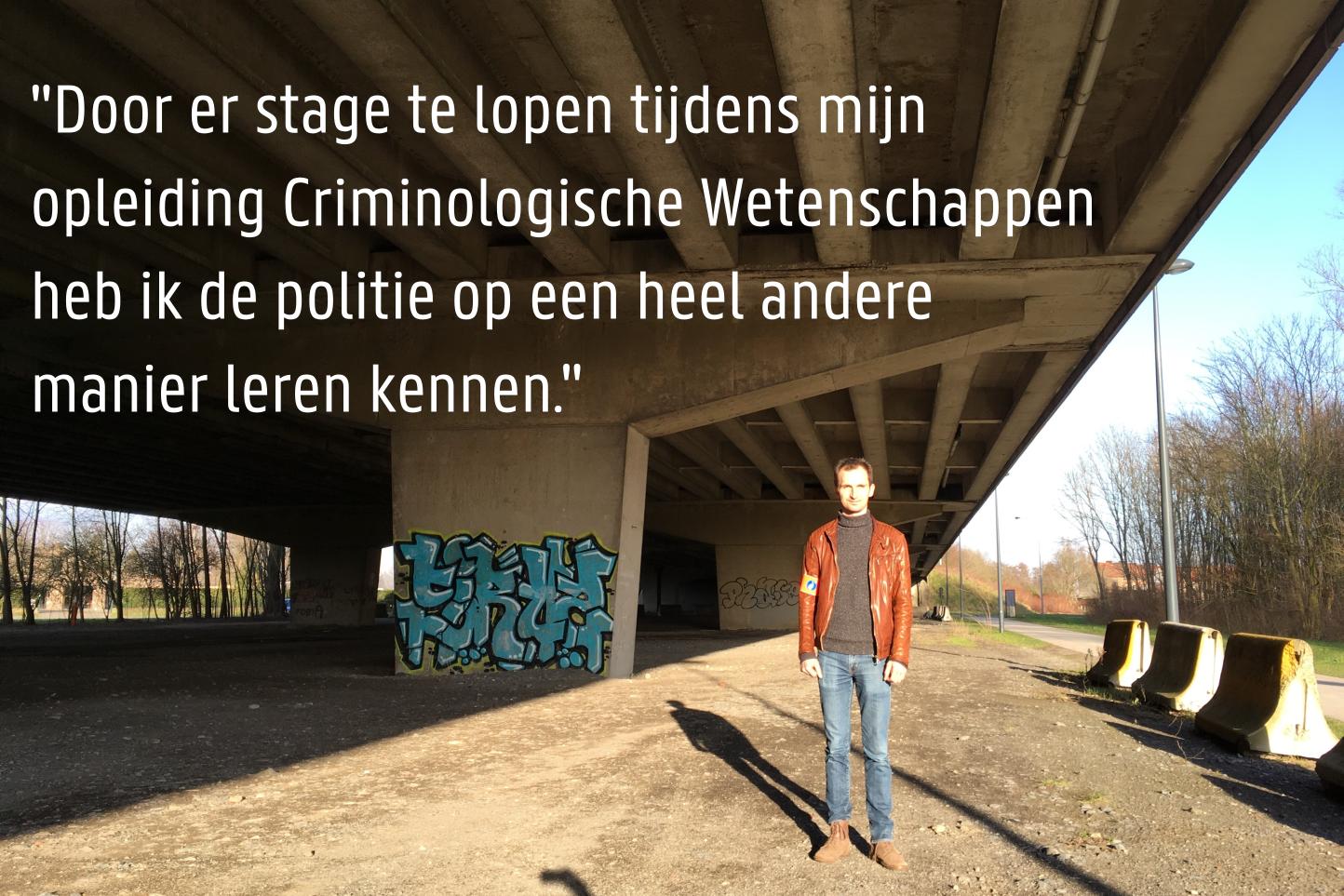 Stefaan Declercq - Inspecteur Lokale Politie Gent Team Jongerencriminaliteit