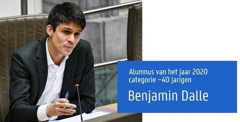 Benjamin Dalle - Alumnus van het jaar 2020